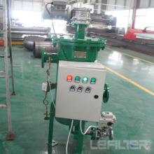 Filtro autolimpante automático vertical de aço inoxidável