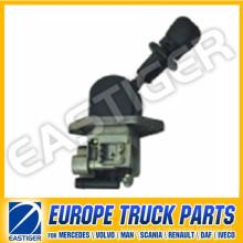 Peças do caminhão da válvula de freio de mão 9617230210 para Scania