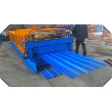 Doppeldecker-Profil-Farbbeschichtete Dachbahn-Maschine