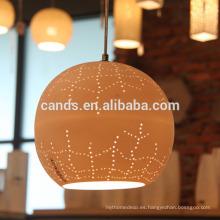 Lámpara colgante de cerámica Lámpara colgante