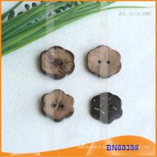 Boutons de noix de coco naturels pour vêtement BN8039