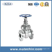 OEM precisão motorizado 4 polegadas Pn16 água de aço fundido válvula de portão