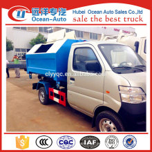 China Mini kleine Müllwagen LKW zum Verkauf