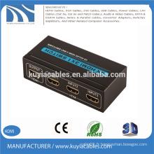 4K HDMI 3x1 commutateur 3D 2160P pour HDTV Blue-ray PS3