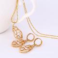 61791-Xuping Jewelry Fashion Gold Plated Jewelry Sets