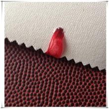 Cuero sintético PU ecológico personalizado para balón de fútbol
