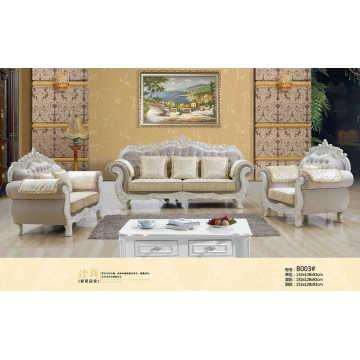 Dubai, sofá de cuero, real del sofá (B003)