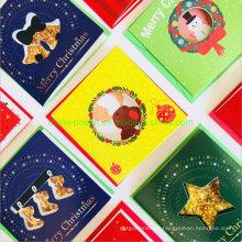 Christmas Mini Greeting Paper Card