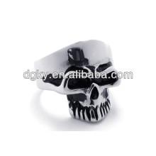 Atacado Jóias Fabricantes Crânio Anéis de aço inoxidável