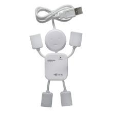 4 ports USB Hub du donnée jusqu'à 480Mpbs