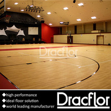 PVC Sports Flooring Sheet Basketball Flooring