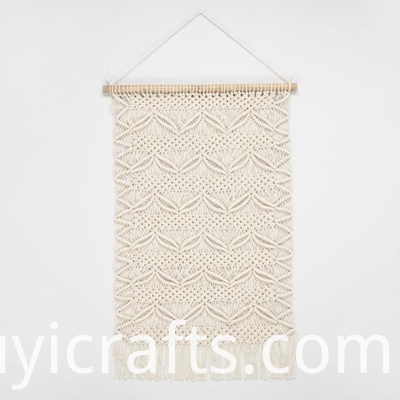 large macrame wall hanging pattern