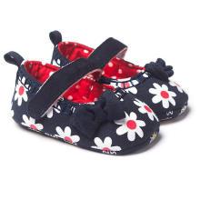 Moda Bowknot suela blanda zapatos de bebé 0-1 años infantil mocasines