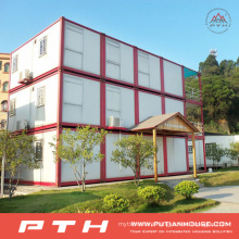 Prefabricated Container House as Economic Residential Living