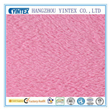 Tissu en molleton 100% polyester