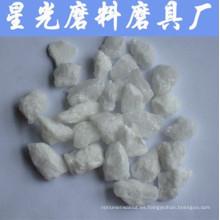Alumina fundida blanca de 1-3 mm para chorro de arena y molienda