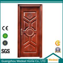 Amored Security Wooden Steel Door for Hotels