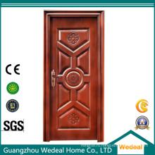 Конкурентоспособные стальные межкомнатные / входные двери с защитой для домов