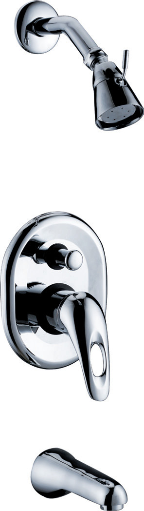 CONCEALED MIXER FAUCETS FOR SHOWERS