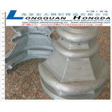 Moulage sous pression, pièces d'éclairage en fonte moulée en aluminium, fabricant de moulage sous pression