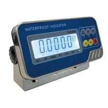 Indicador de peso eletrônico digital de aço inoxidável