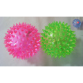 Light Up Flashing Spiky Balls 3 inches