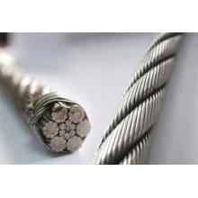 Cuerda de alambre de acero inoxidable, Cuerda de alambre gruesa, Rop de alambre delgado