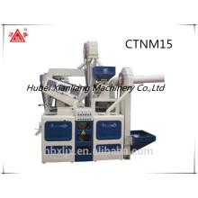 CTNM15 melhor venda boa aparência alta capacidade automática mini completa máquina de arroz moinho