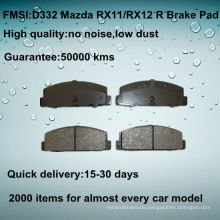 OE Qualität MAZDA 323 Bremsbelag D332