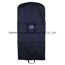 Deluxe Custom Navy Blue Suit Garment Carrier Bag