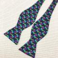 Corbata de lazo colorida de la mariposa del bebé del Bowtie del color sólido