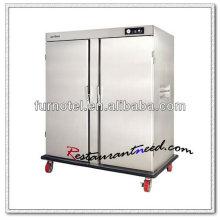 K291 2 Tür-elektrischer Edelstahl-Nahrungsmittelwärmer für die Verpflegung