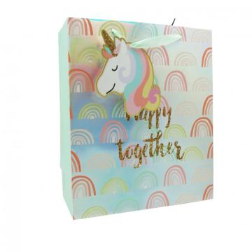 UNICORN PAPER  GIFTBAG 11-0