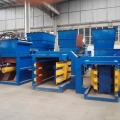 Máquina automática de prensado de cajas de cartón hidráulico horizontal
