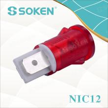 Neon-Kontrollleuchte mit 110V, 125V, 24V, 12V