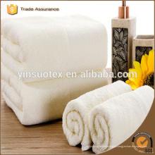Uso do hotel toalha de algodão branco toalha comum 100%