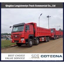 Camião basculante do descarregador 371HP do caminhão basculante 6X4 de Sinotruk HOWO