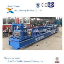 Hydraulic Cutting System Steel C Shape Purlin Cold Roll Forming Machine In Xinnuo