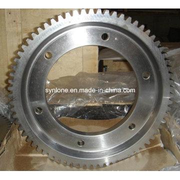 Bague d'engrenage en acier inoxydable avec usinage CNC