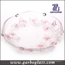 Plaque de verre colorée pour fruits et biscuits & Candy (GB1708FY / PDS)
