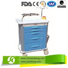 ABS Emergency Trolley, Moving Nursing Trolley