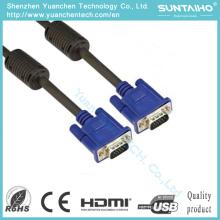 HD 15pinos macho para cabo macho VGA
