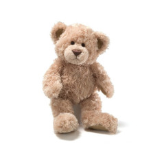 stuffed brown teddy bear plush toy