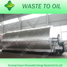 tyer haciendo aceite de carbón maquina