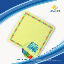 Bildschirm Reinigungstuch mit einem Farb-Siebdruck