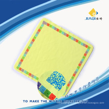 screen cleaning cloth with one color silk-screen printing