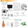 Casa Solar Dimmable del LED la luz la serie China por mayor