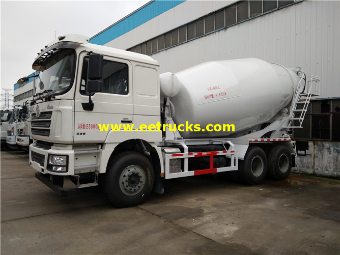 SHACMAN Used Concrete Mixer Trucks