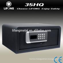 2015 New design digital hotel room safe box,hotel safety deposit box with laptop size