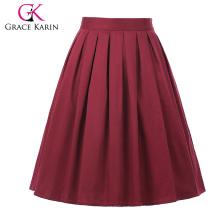 Grace Karin Occident Women's Vintage Retro Short Cotton 50s Skirt 21 Patterns CL6294-20